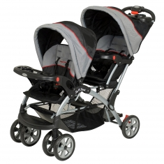 Double Stroller - front & back